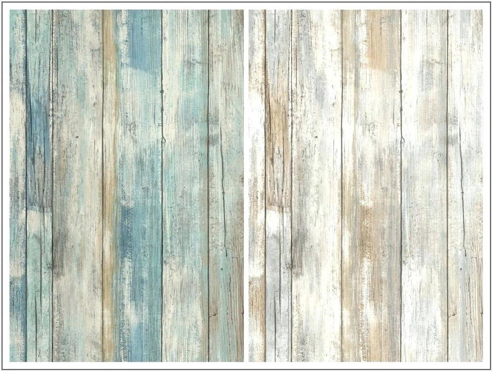 Barnwood Walls In Living Room