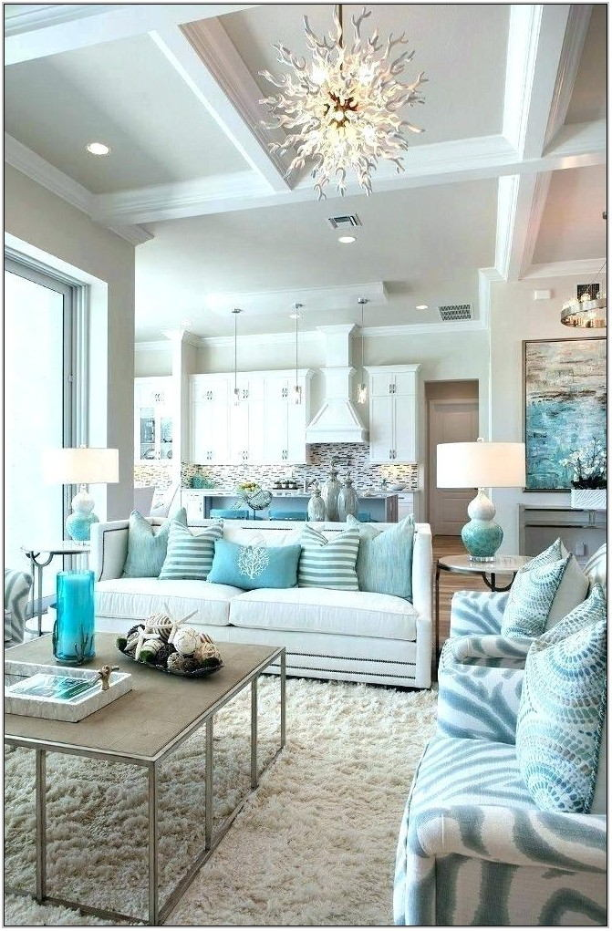 Beach House Living Room Decor