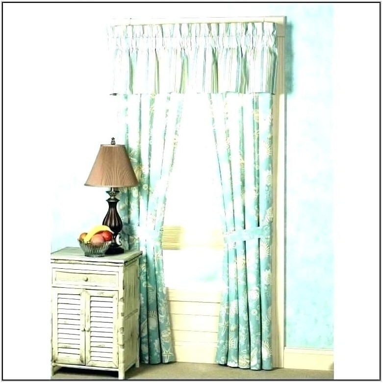 Beach Themed Living Room Curtains
