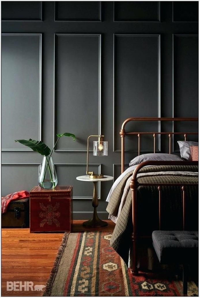 Behr Chic Gray Living Room