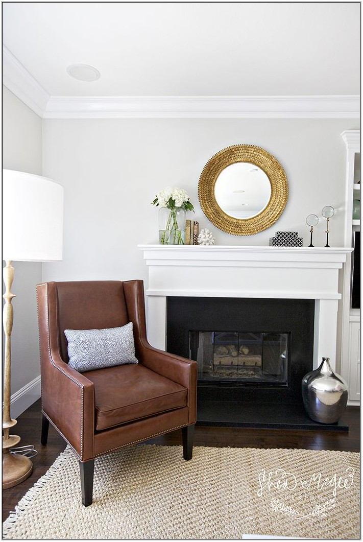 Behr Greige Living Room