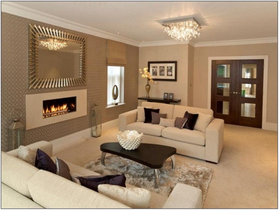 Beige Paint Living Room