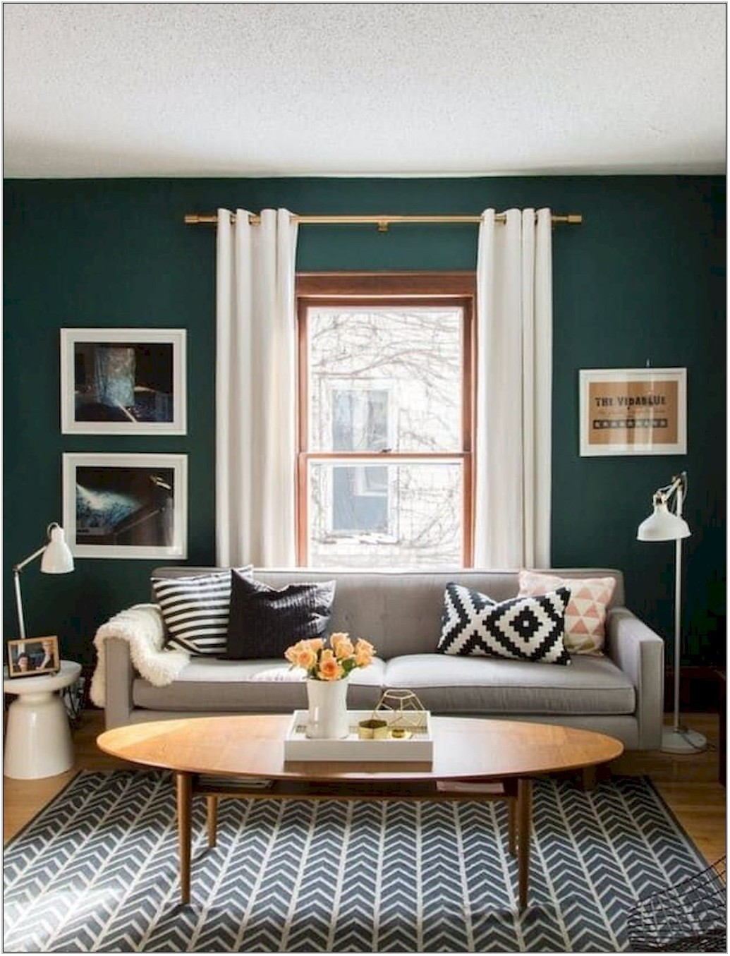 Best Green For Living Room