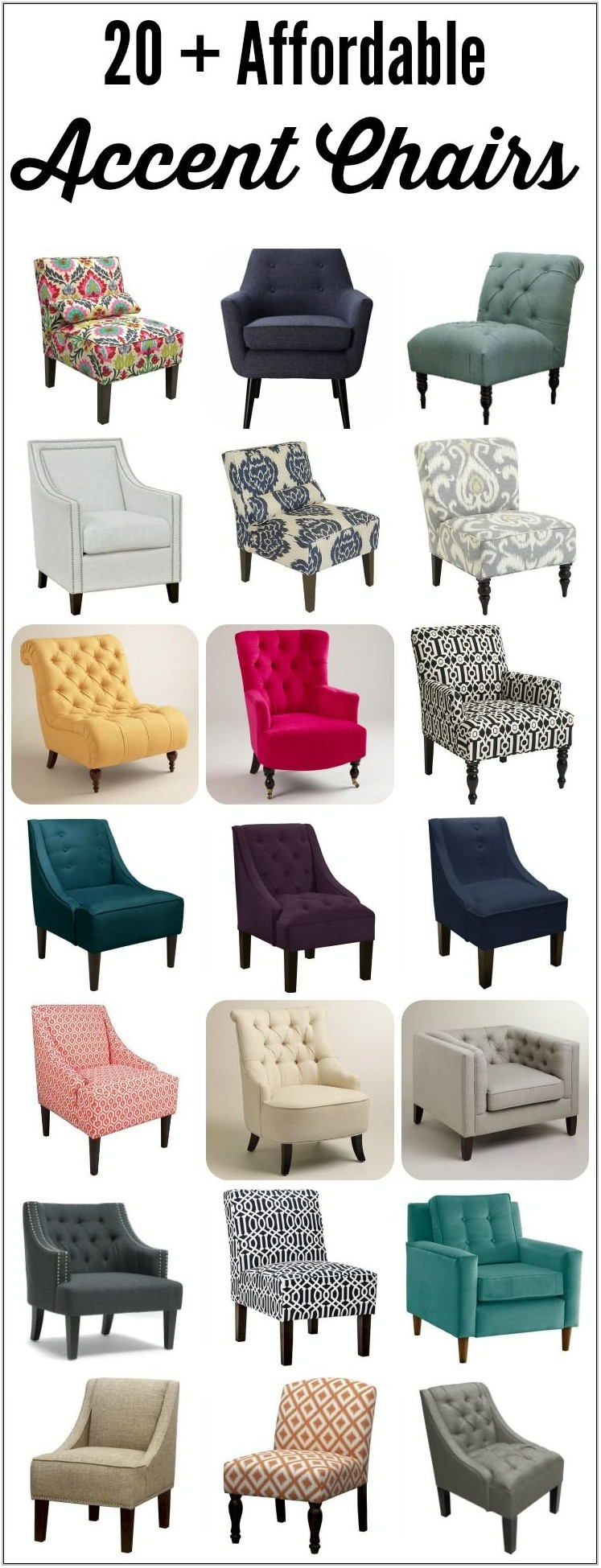 Best Living Room Accent Chairs