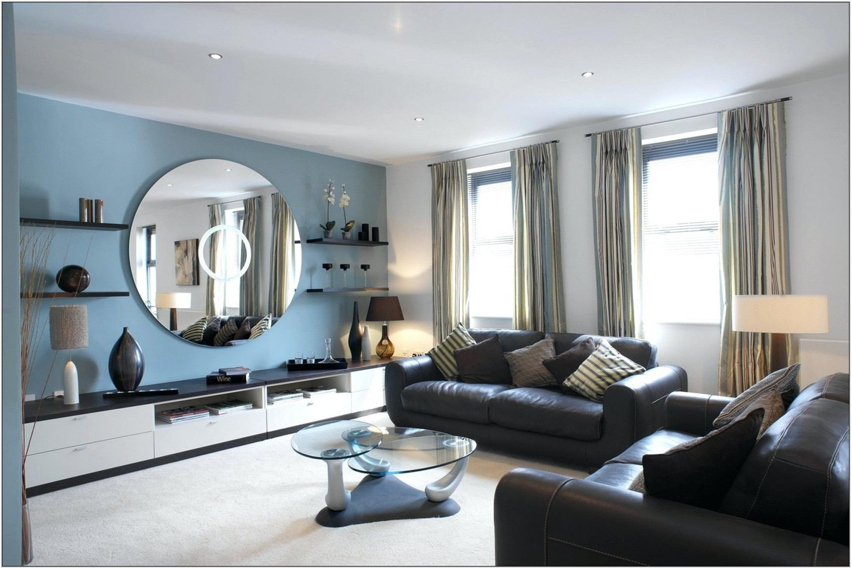 Best Living Room Accent Wall Colors