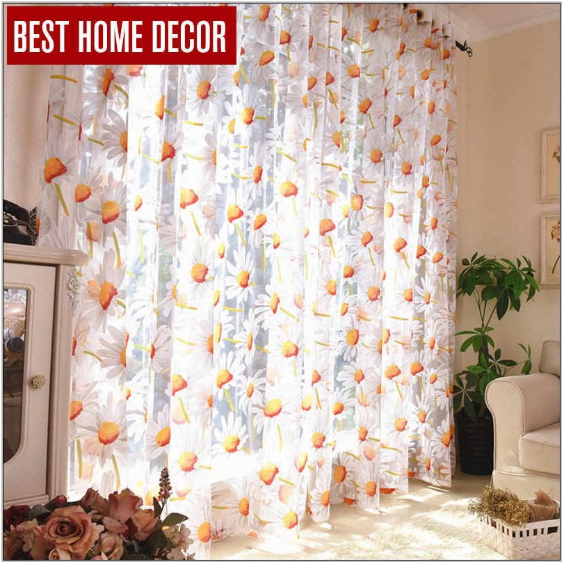 Best Sheer Curtains For Living Room