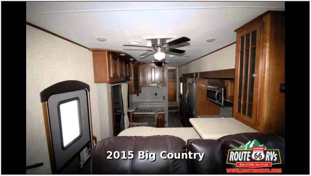Big Country Fifth Wheel Front Living Room