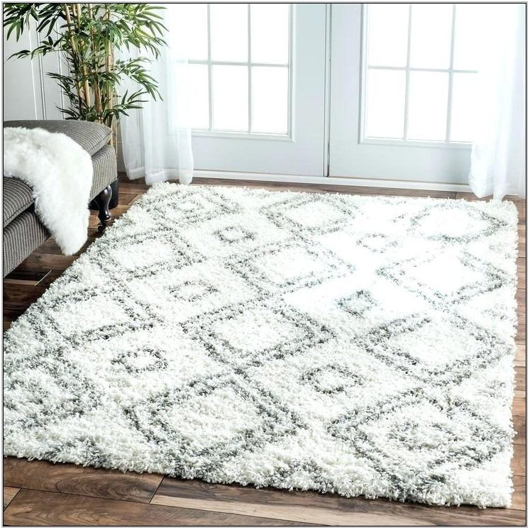 Big Fluffy Living Room Rugs