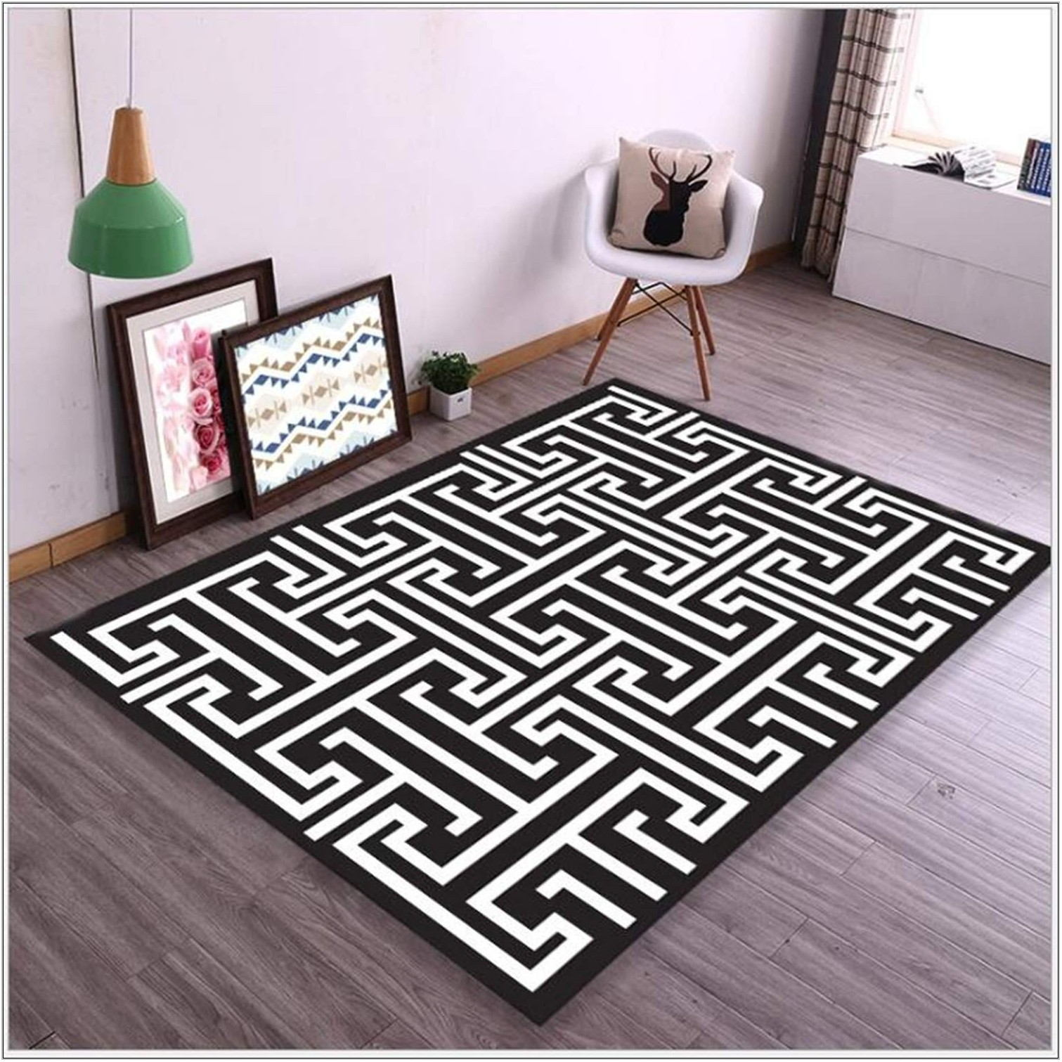 Black And White Carpets For Living Room