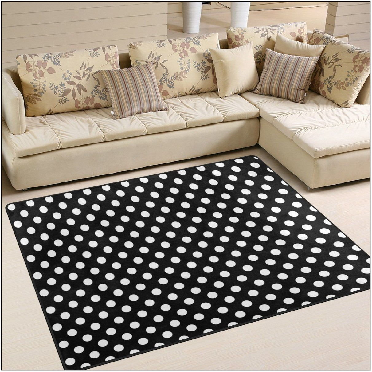 Black Area Rugs For Living Room