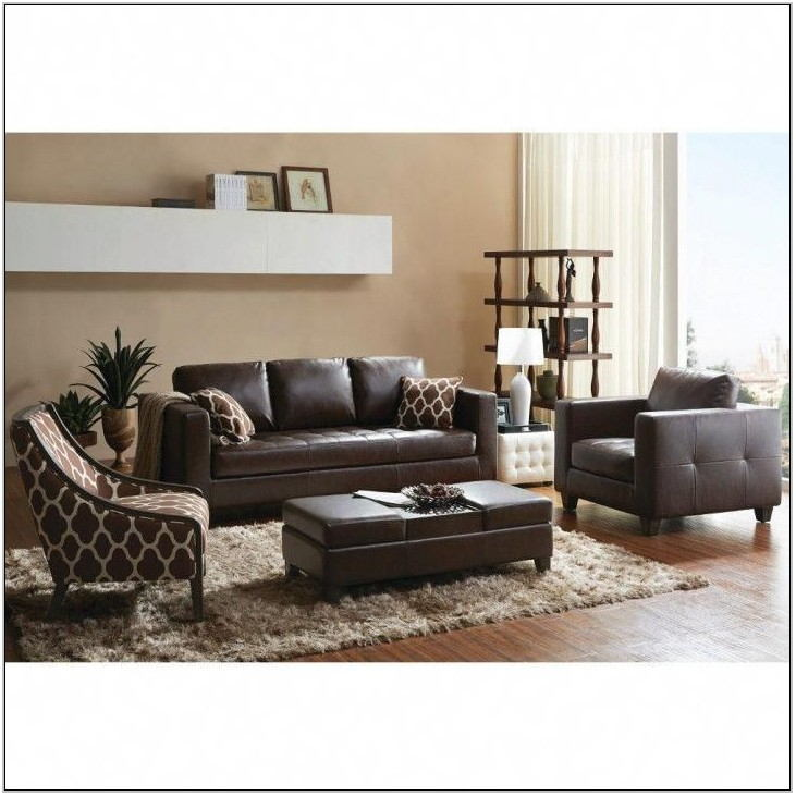Black Leather Living Room Chair