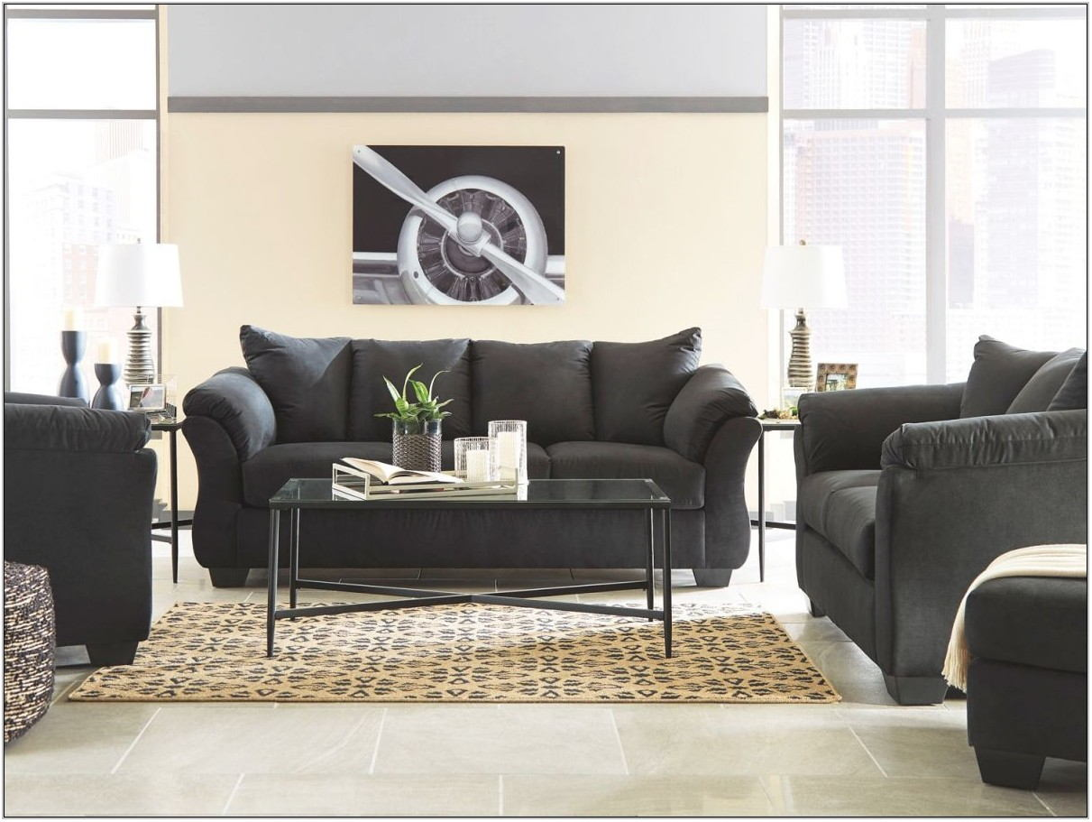 Black Living Room Furniture Cheap