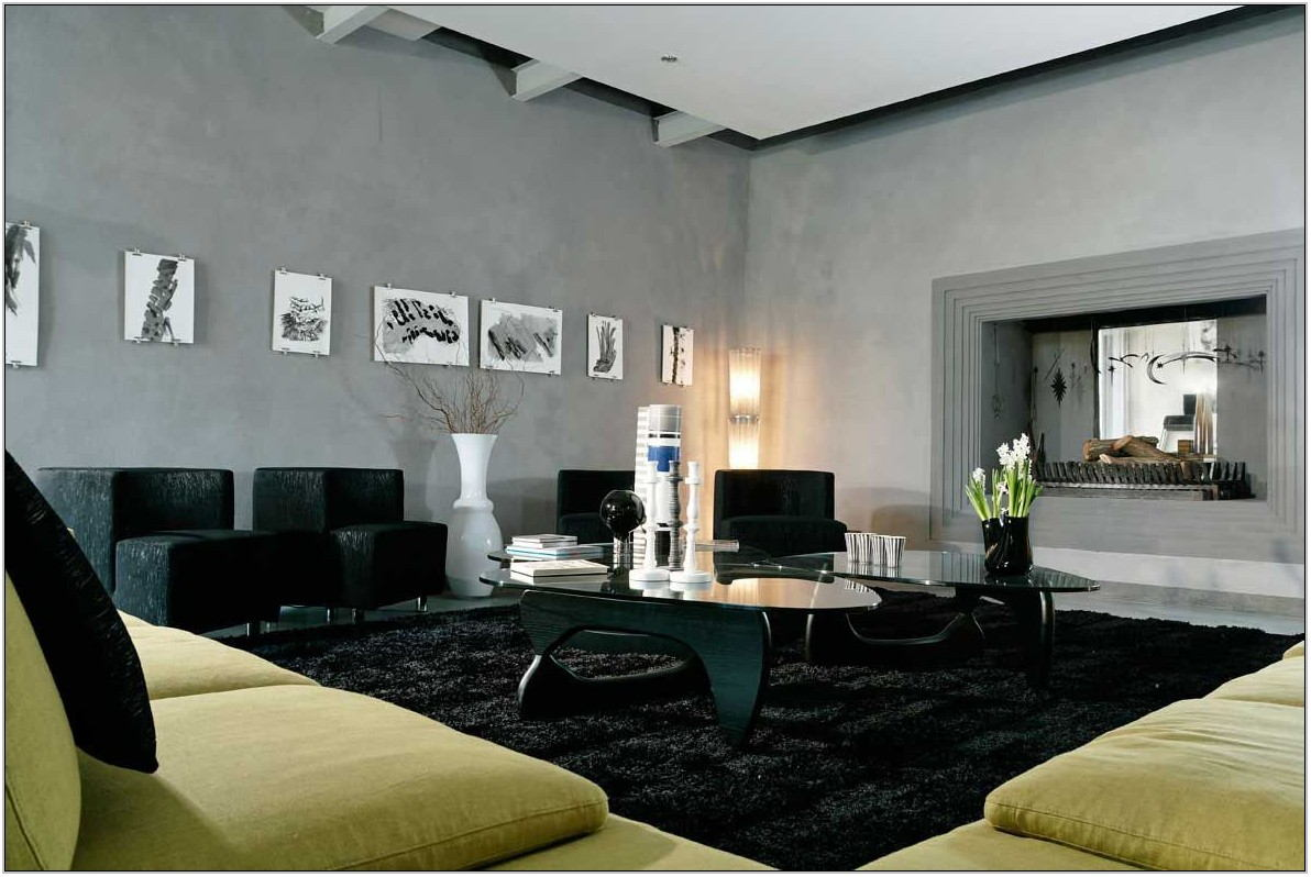 Black Living Room Rugs Large