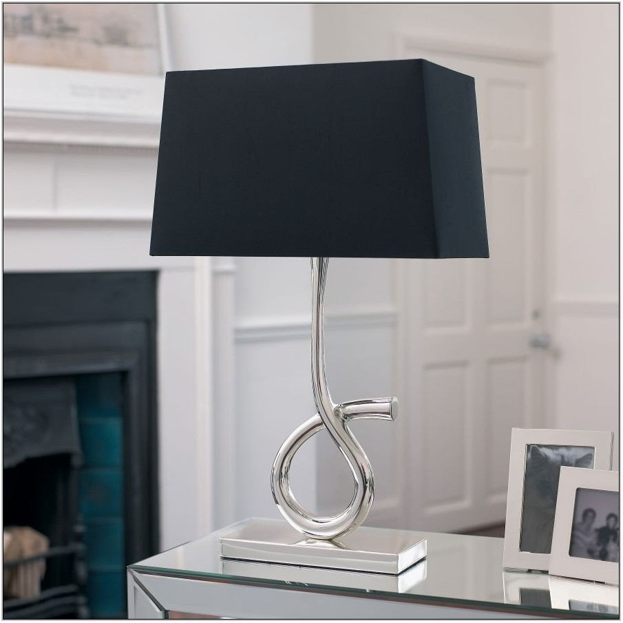 Black Table Lamps For Living Room