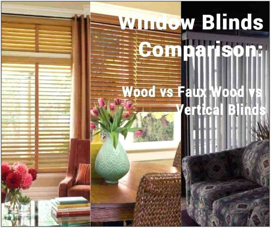 Blinds For Living Room Picture Window