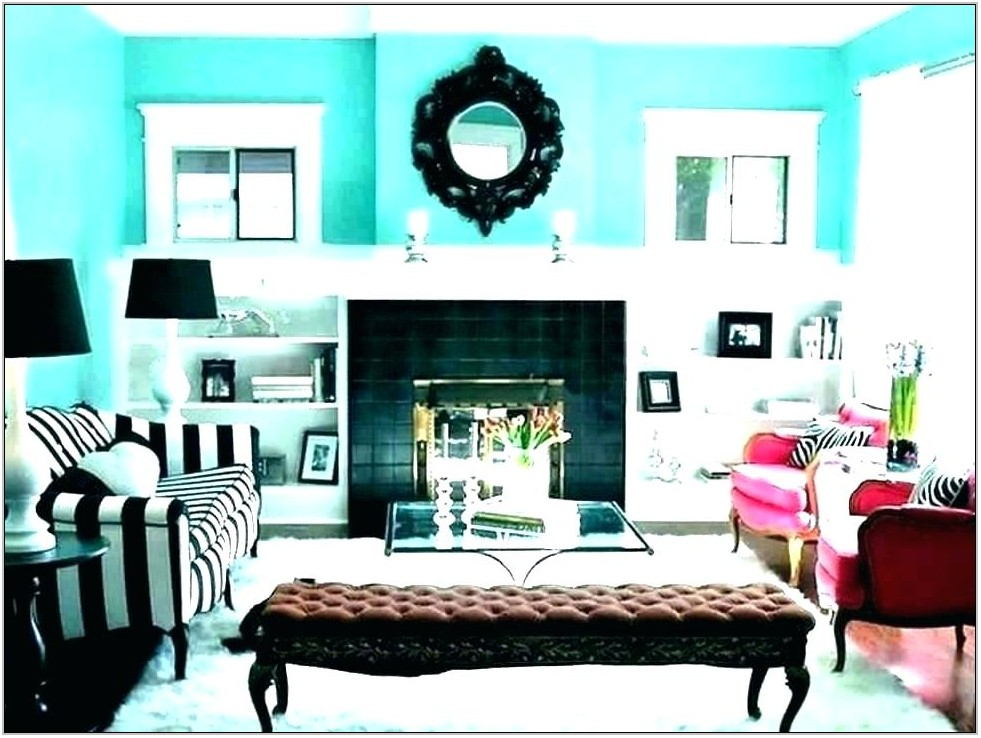 Blue And Orange Living Room Decor
