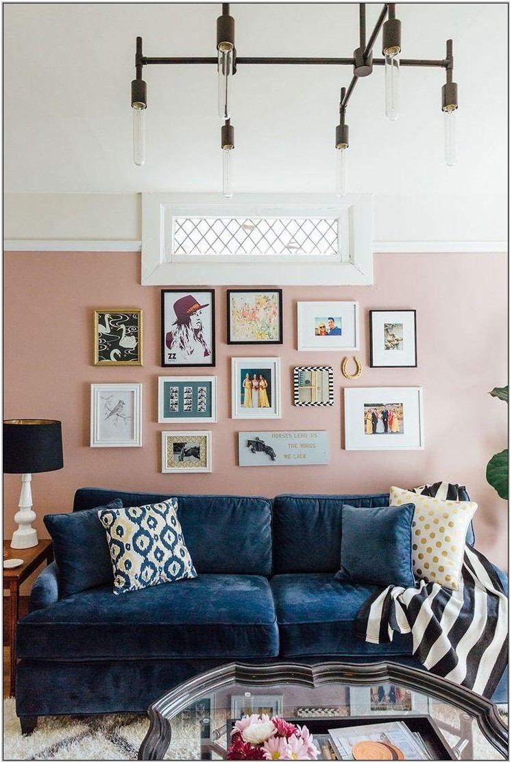 Blue Sofas Living Room Ideas