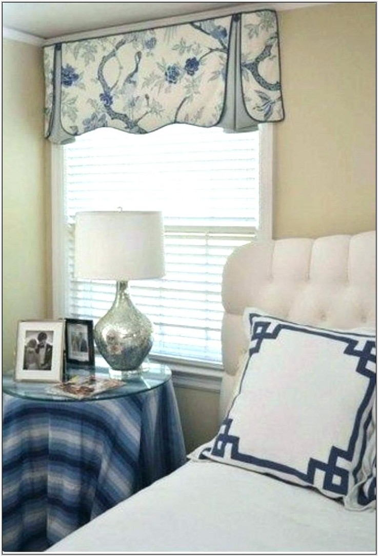 Blue Valances For Living Room