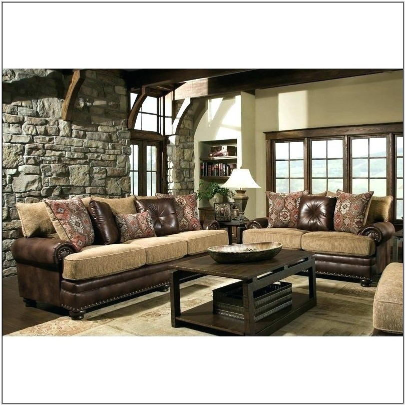 Bobs Furniture 7 Piece Living Room Set
