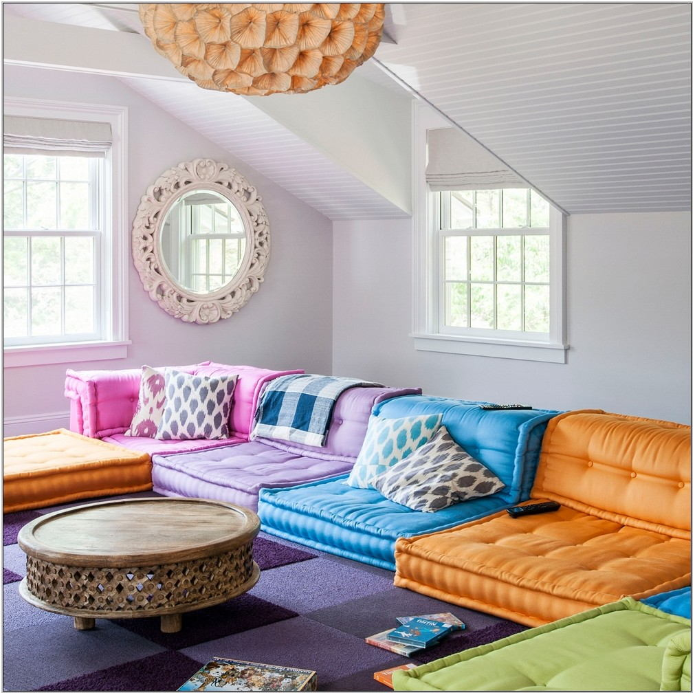 Bright Colorful Living Room Ideas