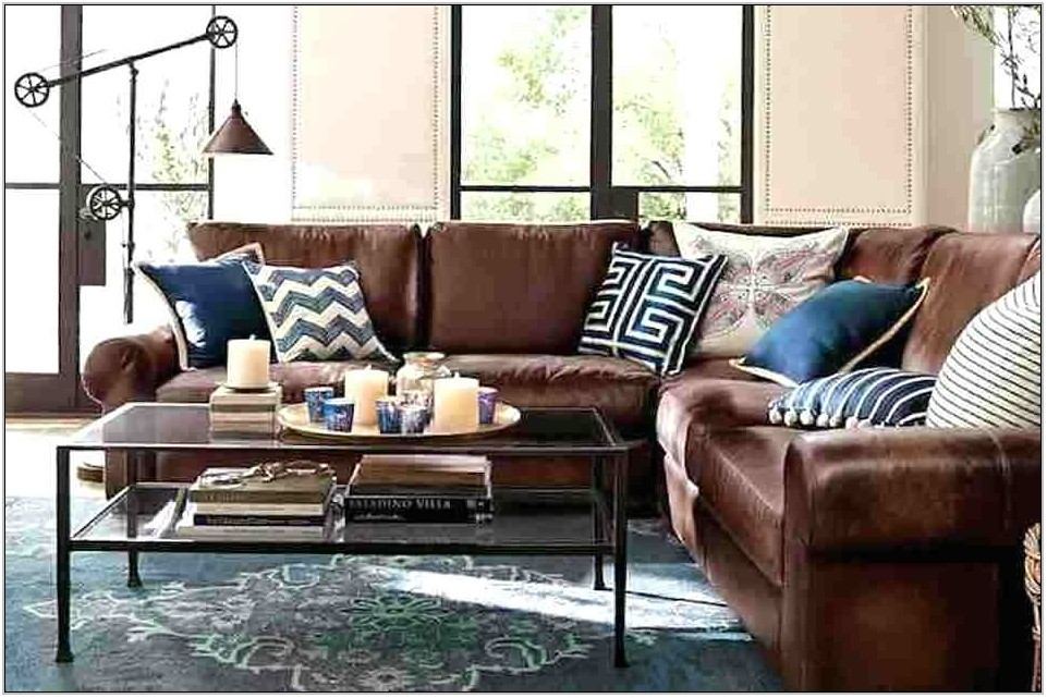 Brown And Blue Living Room Decor