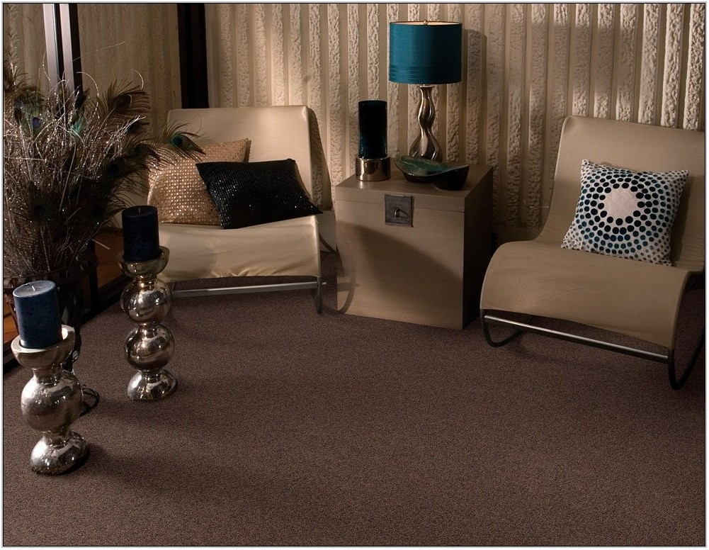 Brown Carpet Living Room