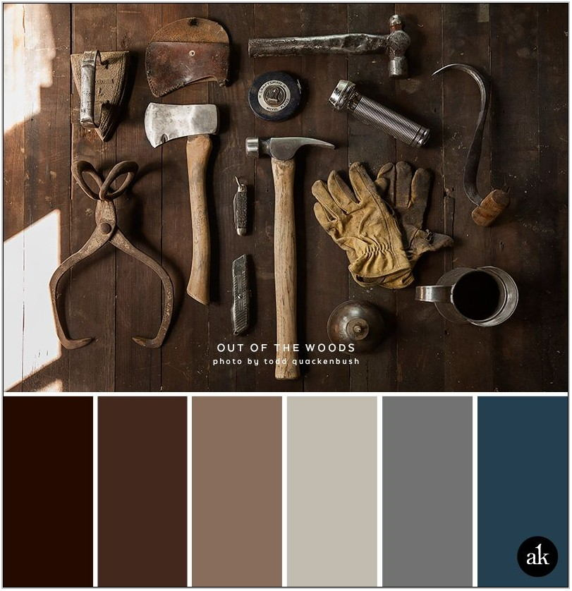 Brown Color Palette For Living Room