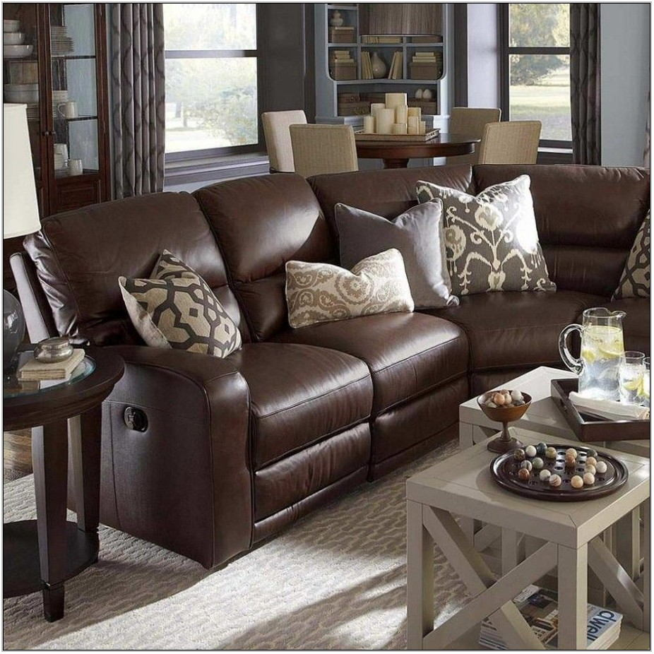 Brown Sofa Decorating Living Room Ideas