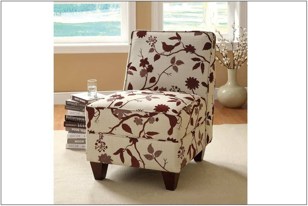 Burgundy Living Room Chair