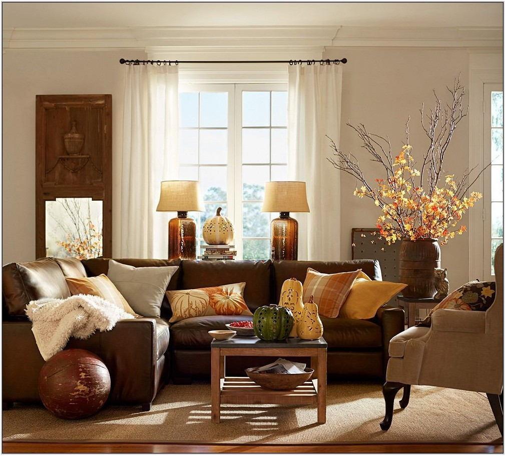 Burgundy Living Room Decor