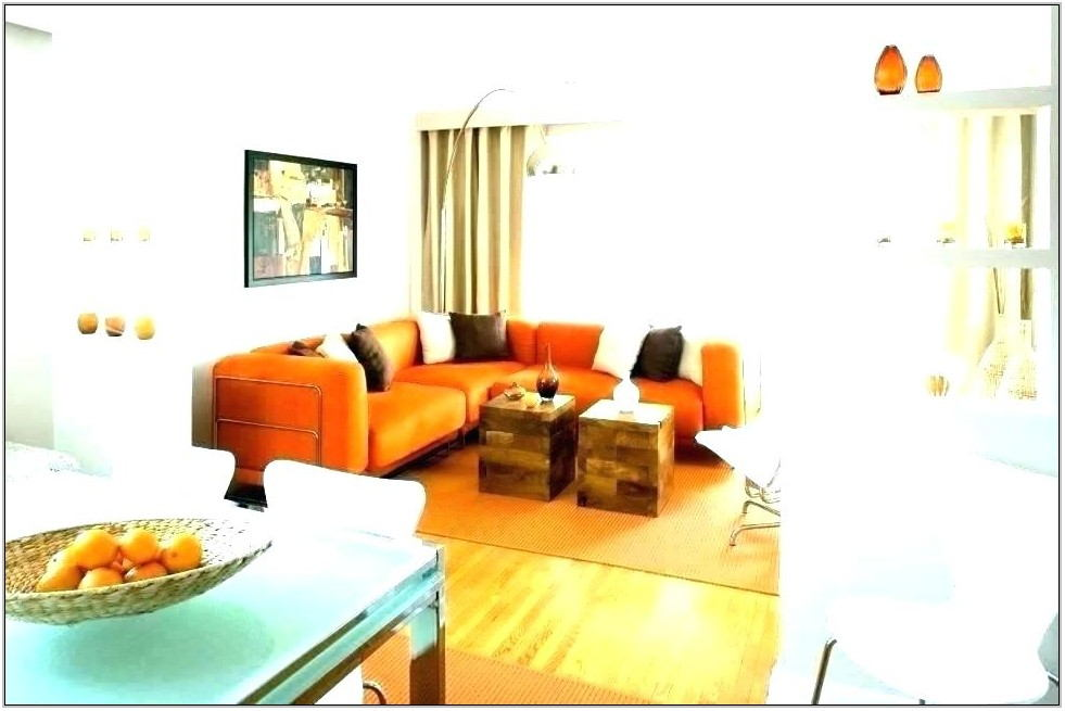 Burnt Orange Decor For Living Room
