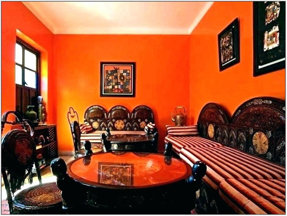 Burnt Orange Living Room Chairs