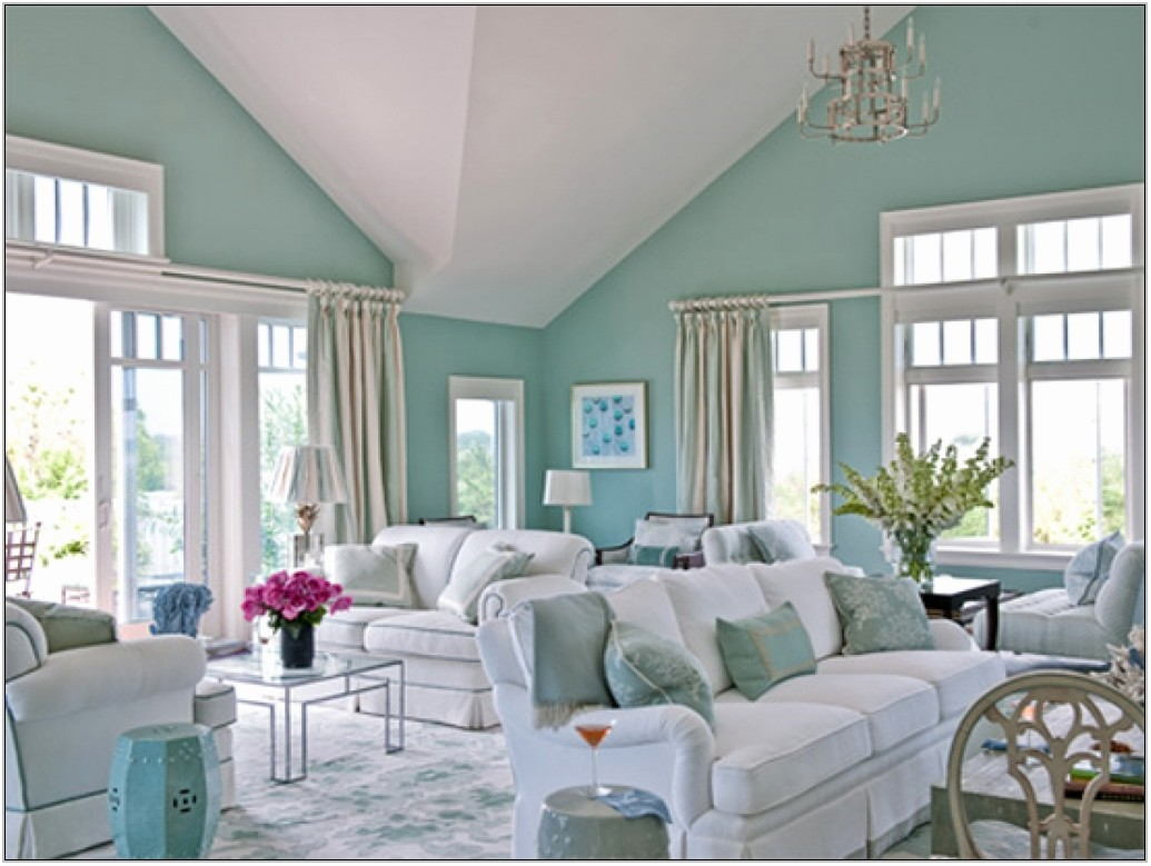 Calming Wall Colors For Living Room