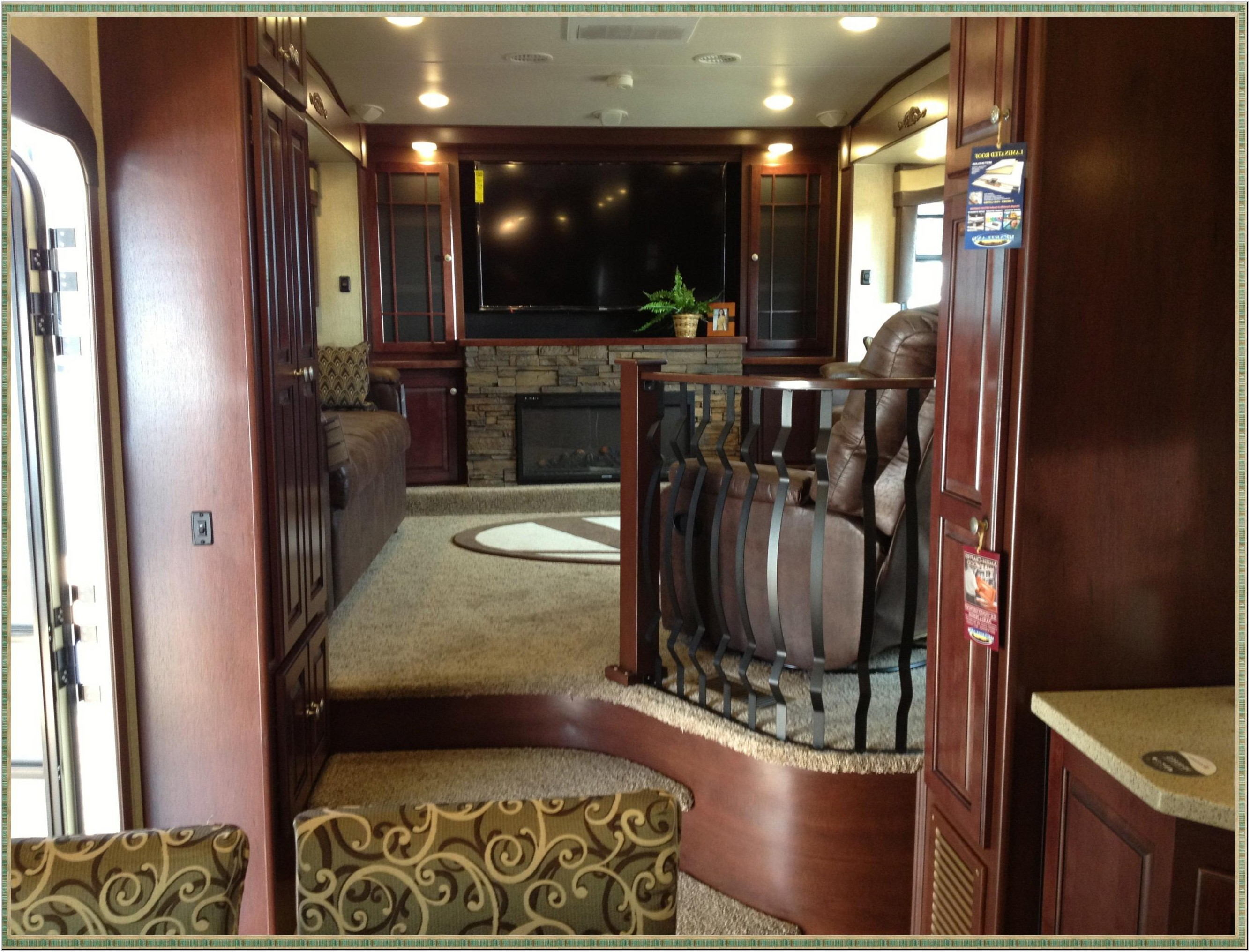 Camper With Living Room Upstairs