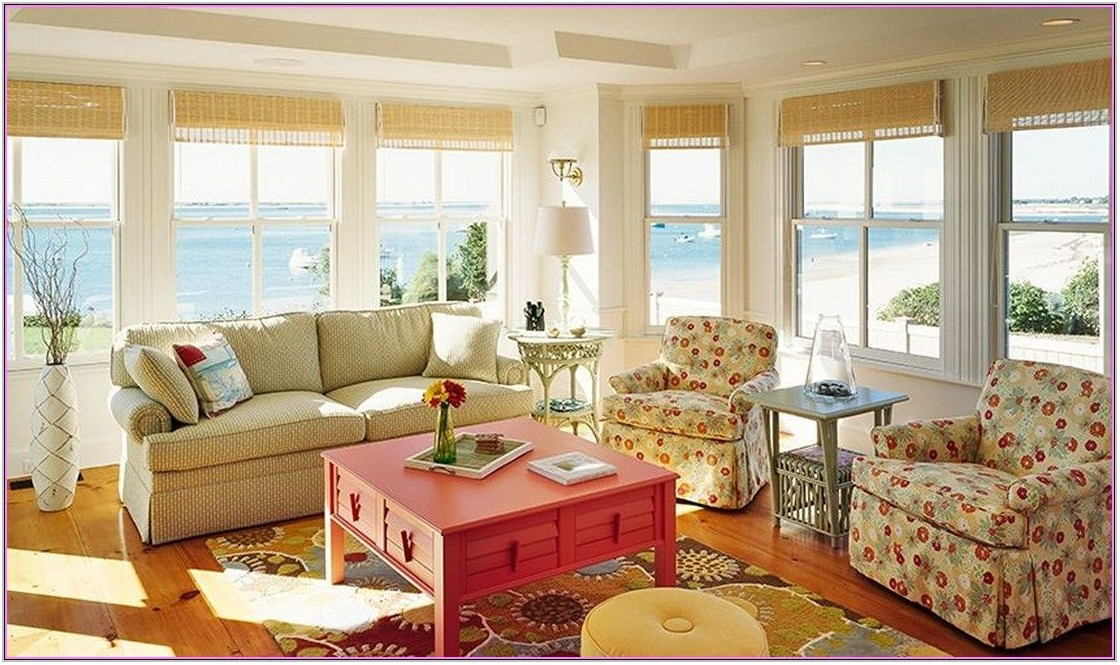 Cape Cod Decorating Style Living Room