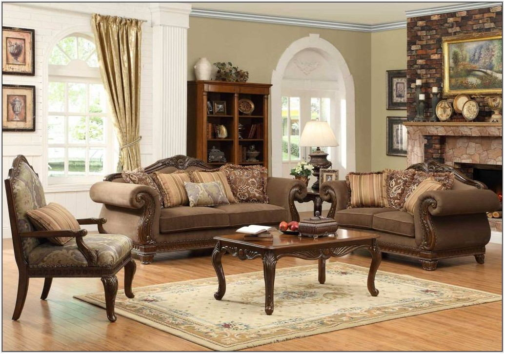 Casual Elegant Living Room Furniture