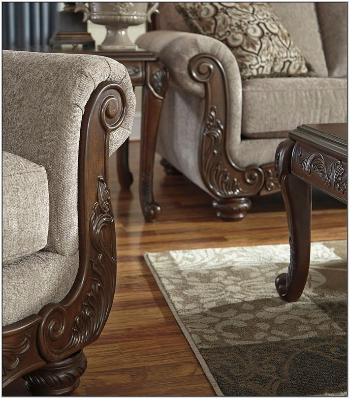 Cecilyn Cocoa Living Room Set