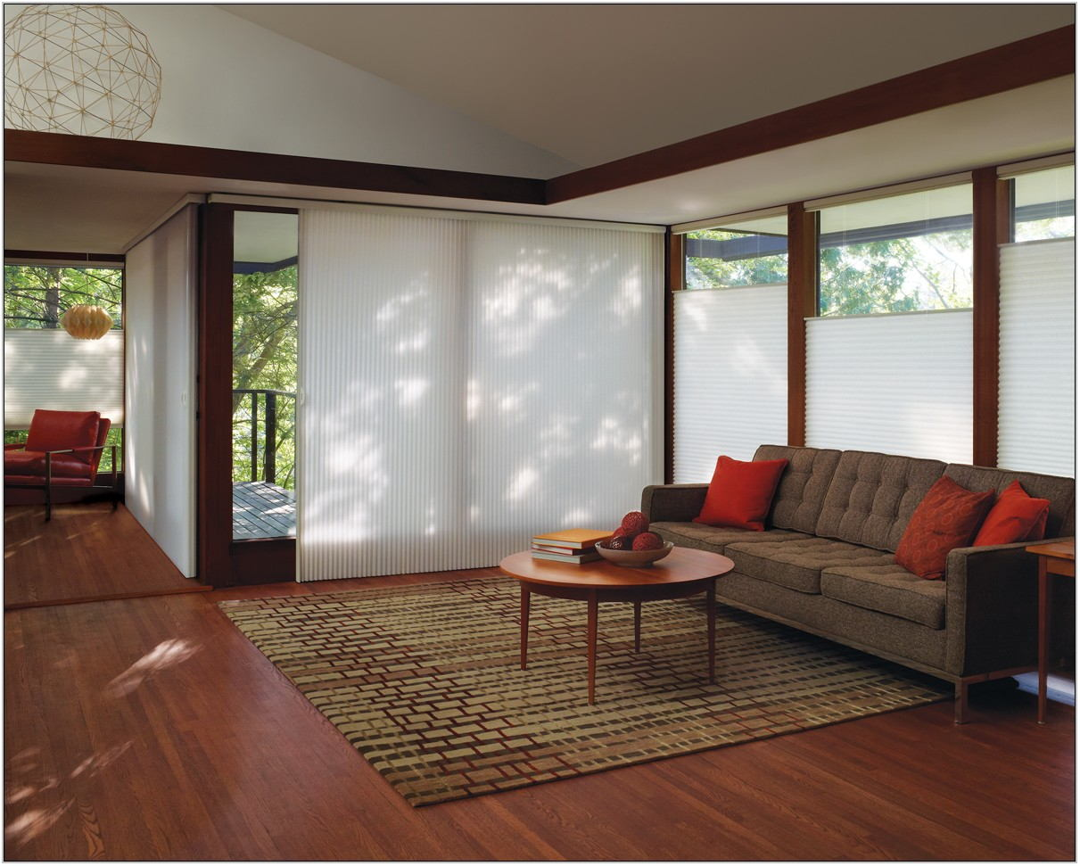 Cellular Shades Living Room