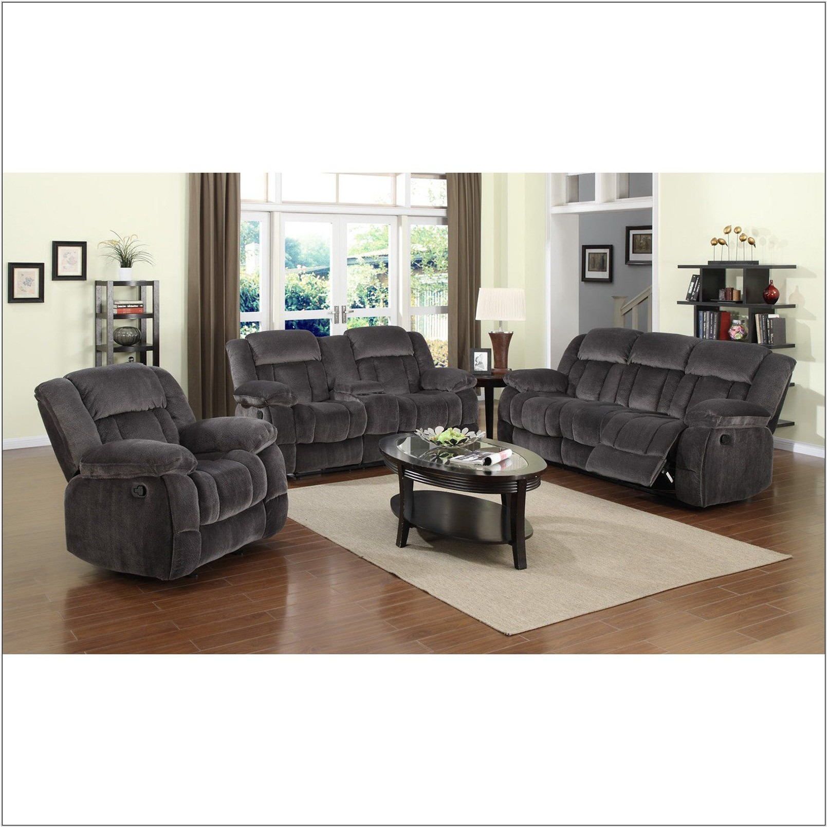 Charcoal Gray Living Room Set