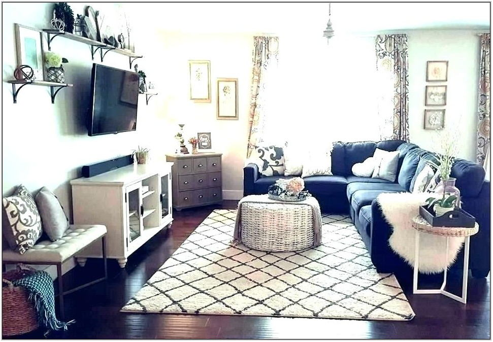 Charcoal Gray Sectional Living Room