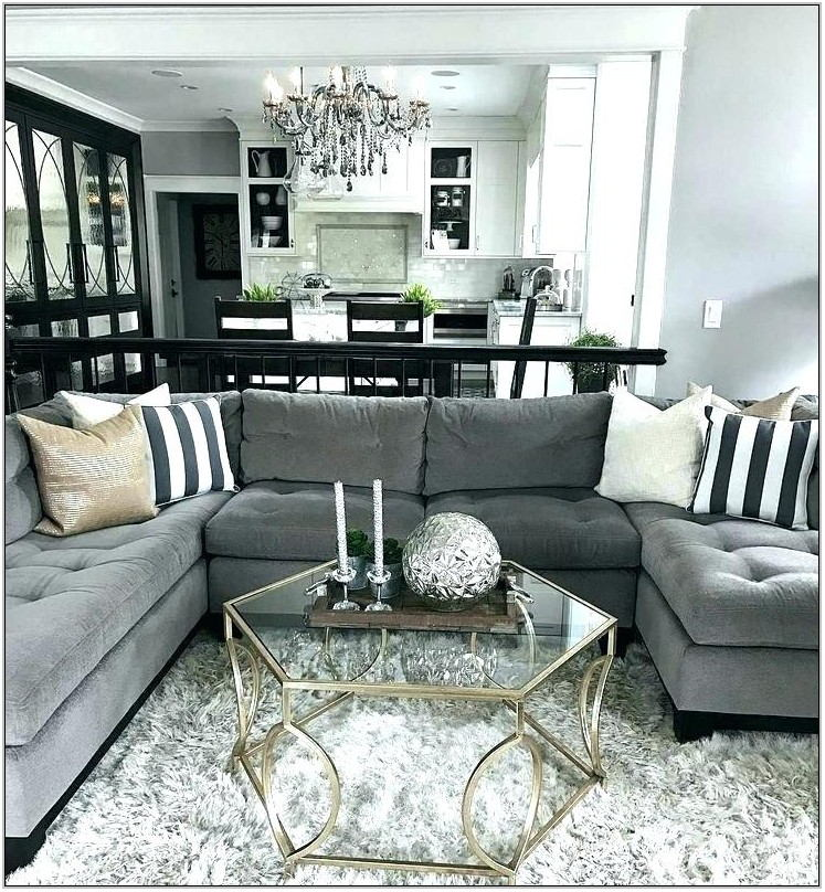 Charcoal Sofa Living Room