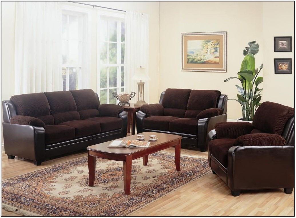Chocolate Living Room Furniture