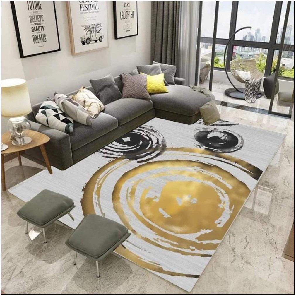 Circle Rug Living Room