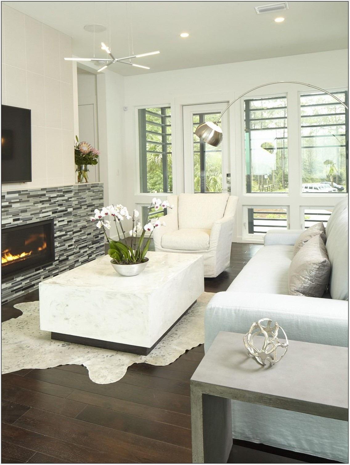 Coastal Contemporary Living Room