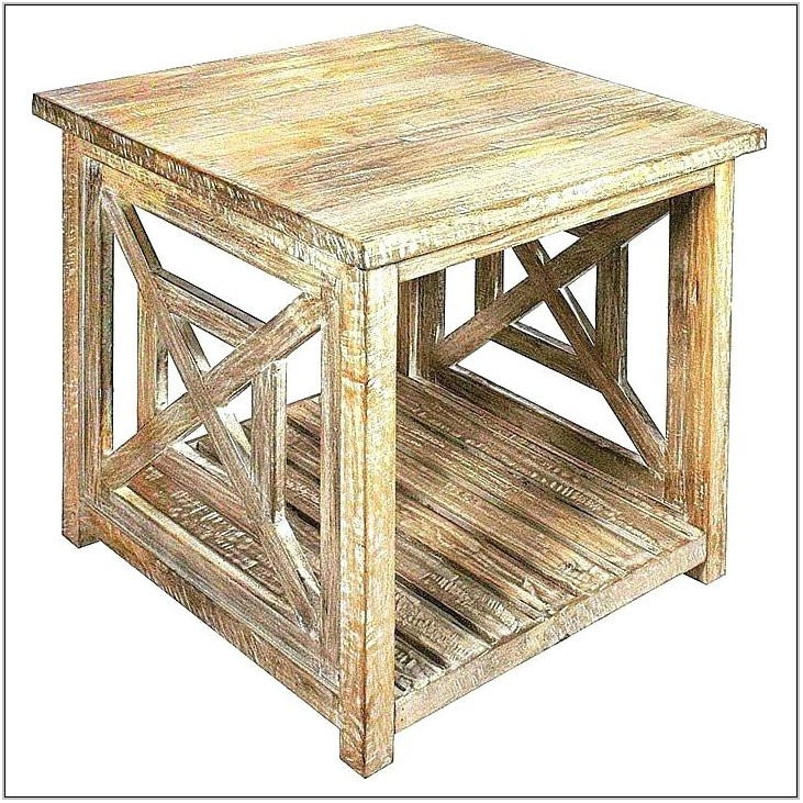 Coastal End Tables For Living Room
