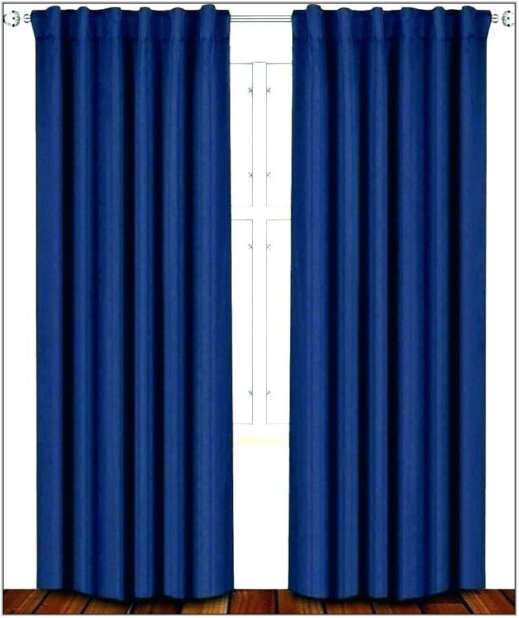 Cobalt Blue Curtains For Living Room
