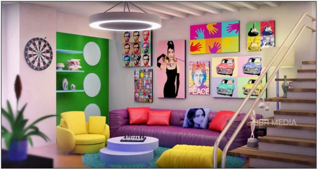 Colorful Living Room Furniture Sets