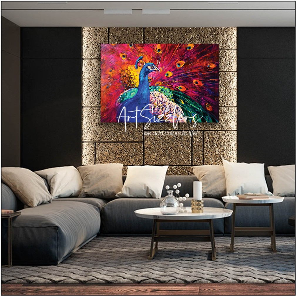 Colorful Wall Art Living Room
