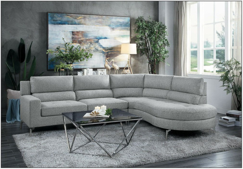 Contemporary Grey Living Room