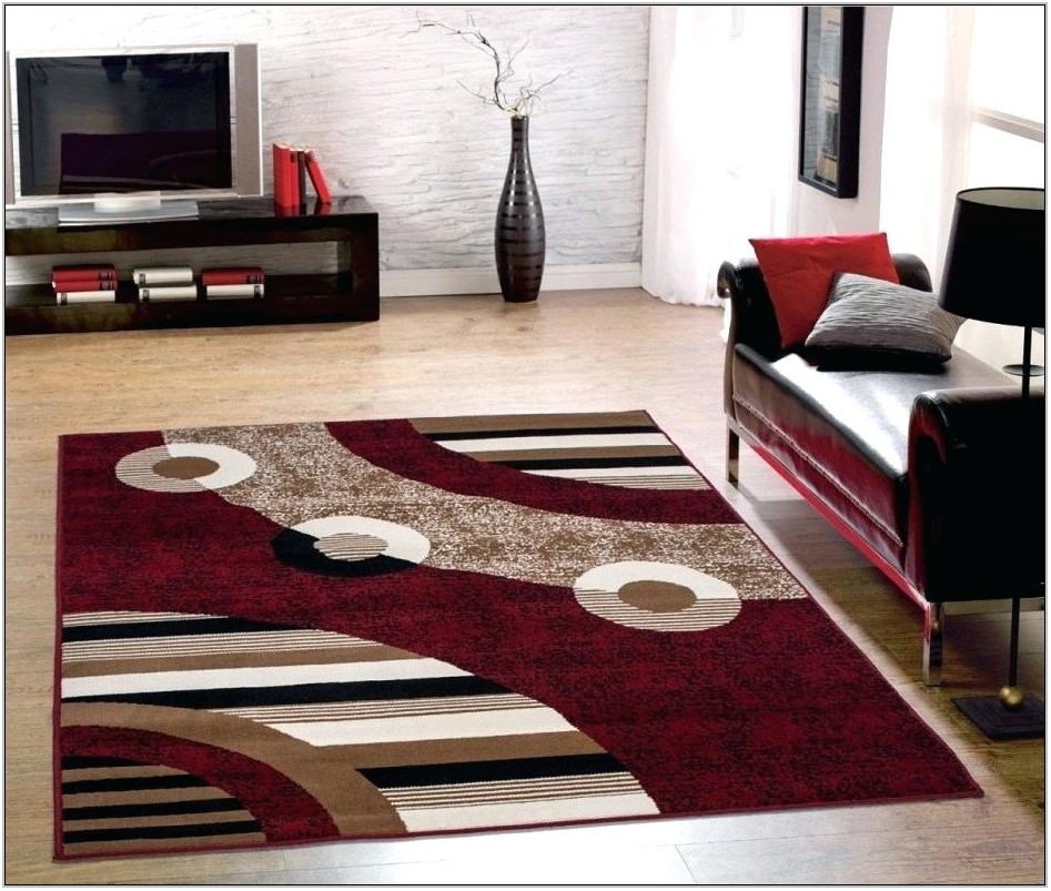 Contemporary Living Room Area Rugs